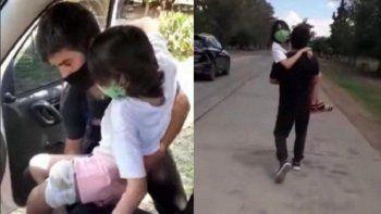 trasladaron a abigail a buenos aires: su mama pide que recen por ella