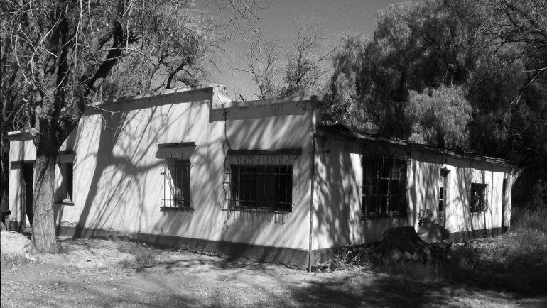 La casa donde Bouquet Roldán vivió en Neuquén.