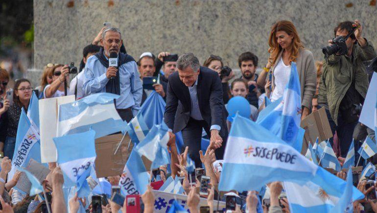 El último acto político en el que participó Quiroga fue con Macri, previo a las elecciones nacionales del año pasado.