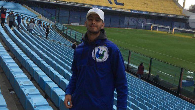 Gutiérrez, el arquero neuquino de 18 años en la órbita de Boca