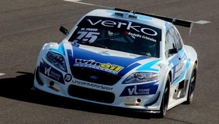 Matías Frano ganó el Sprint del Top Race en San Nicolás