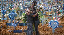 brasil tuvo record de muertos por coronavirus en un dia