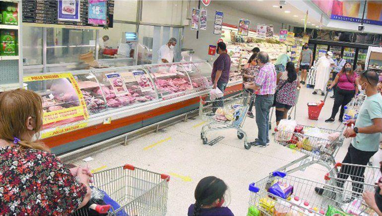 Mañana no abrirán los shoppings, supermercados ni tiendas