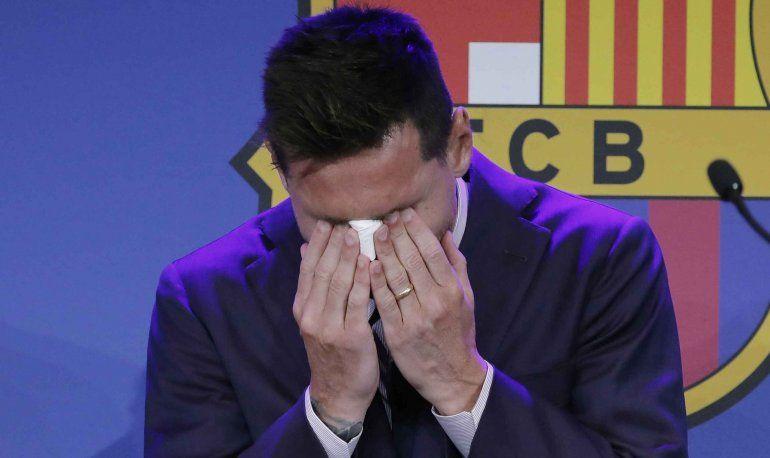 Vignolo preocupado por triste ausencia en mudanza de Messi