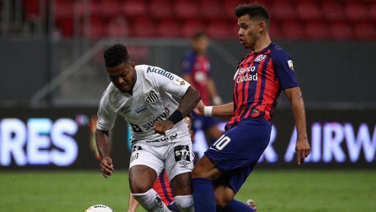 El Ciclón empató con Santos y se quedó sin Copa Libertadores