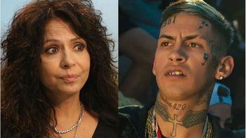 Patricia Sosa criticó a L-Gante: Eso del arma no me gusta
