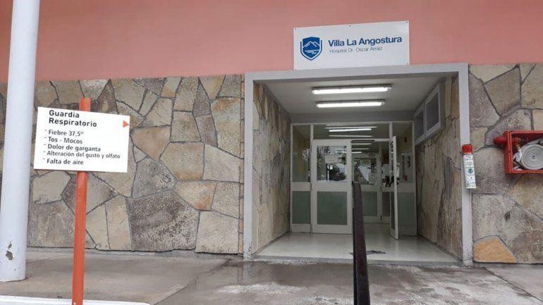 El femicida permanece internado en el hospital de Villa La Angostura.