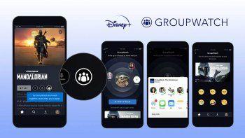 Disney Plus ofrece ver un mismo programa entre varios amigos