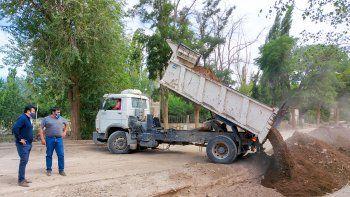 Tras el fuerte temporal, Barrancas volvió a tener los servicios básicos