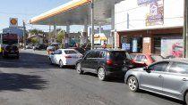 por los piquetes, es muy grave el abastecimiento de combustibles en las estaciones