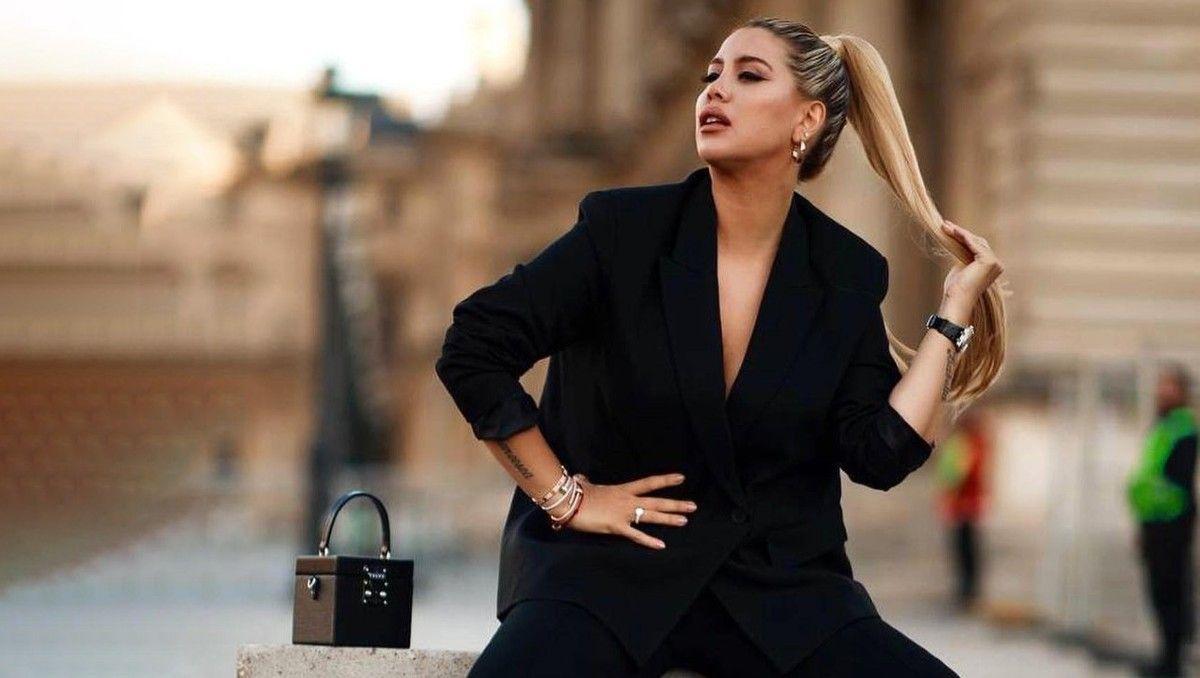 wandagate: el famoso cantante italiano que mensajeo a la empresaria