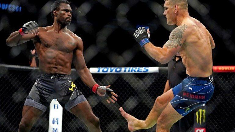La escalofriante lesión en la UFC: se le parte la pierna en dos