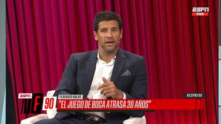 Seba Domínguez confesó por qué no hace análisis tácticos de Boca