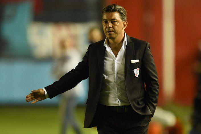 Gallardo y la falta de gol en River: ¿qué dijo?