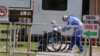 El hospital de Centenario tiene un ala Covid independiente. Sólo para internados sin respirador