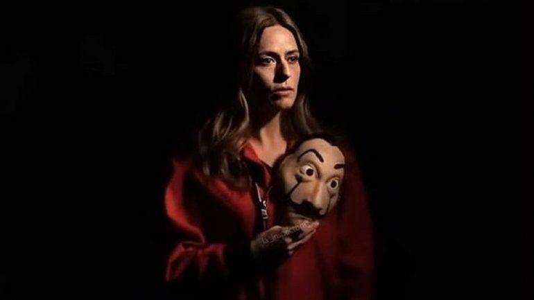 La actriz que interpreta a Lisboa en La Casa de Papel, habló sobre el fin de la producción
