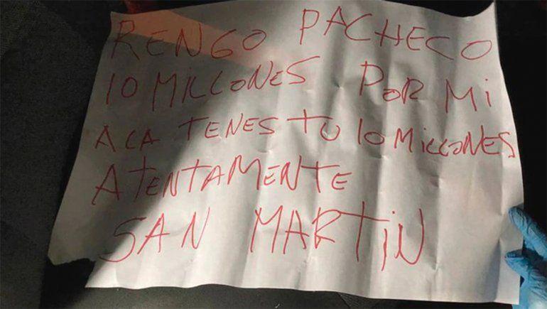 Asesinaron a un policía y encontraron un mensaje mafioso junto a su cuerpo
