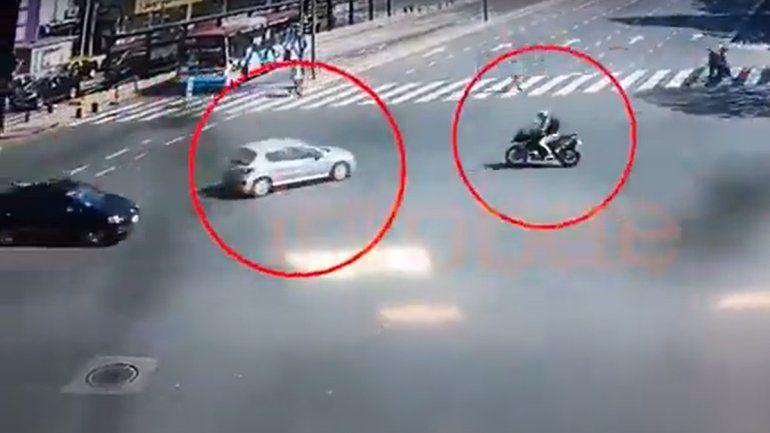 Mirá el terrible accidente de moto de Nacho Viale