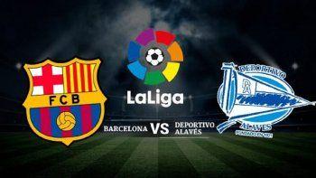 Barcelona visitará el sábado a un intermitente Alavés