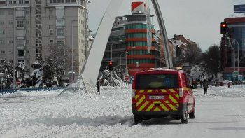 tras la historica nevada, madrid continua paralizada
