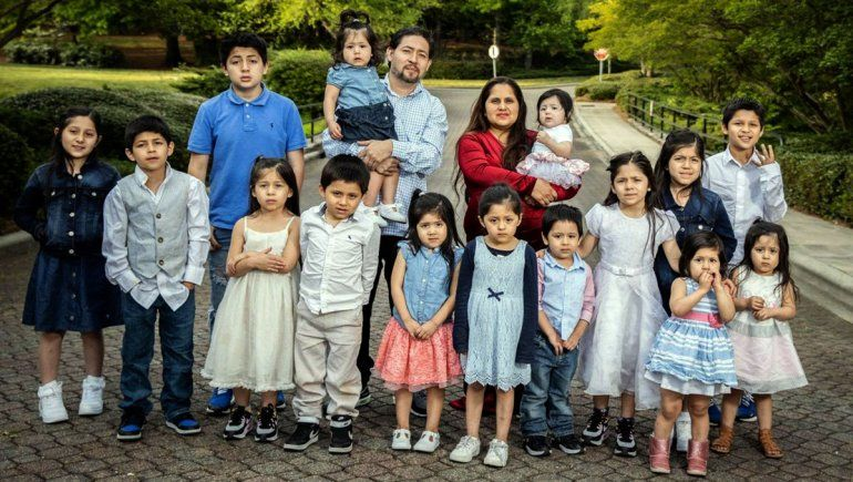 Tiene 32 años, ya tuvo 16 hijos y todos los nombres empiezan con C