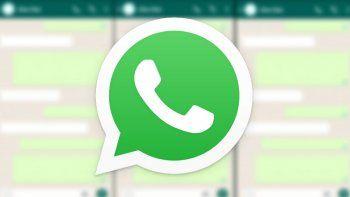 WhatsApp: así podés hacer una captura de pantalla a un chat entero.