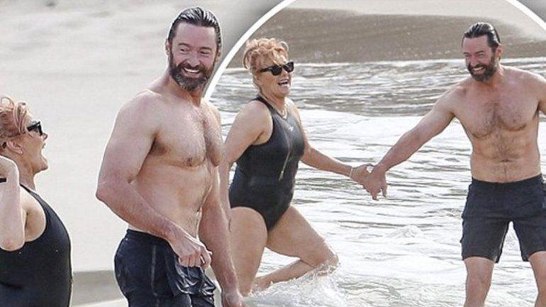 Hugh Jackman se enamoró de la directora y productora Deborra-Lee Furness cuando tenía 27 años. Ella tenía 40.