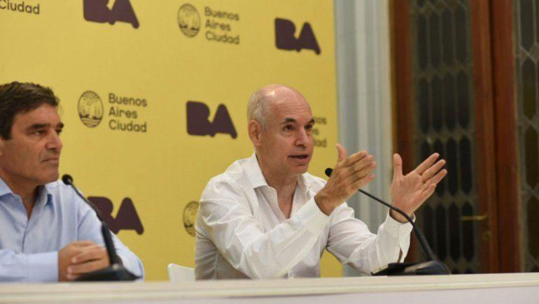 Larreta recomendó el uso de barbijos en Ciudad de Buenos Aires