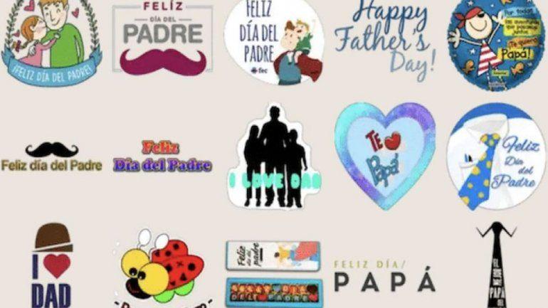Día del Padre: mirá cómo se descargan los nuevos stickers de WhatsApp