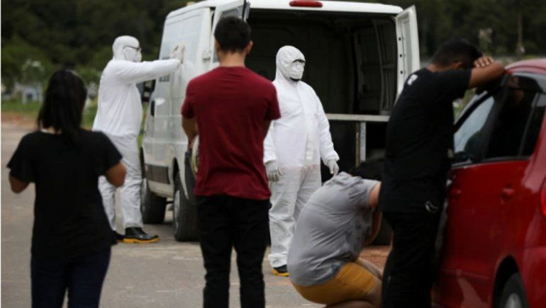 Covid-19: Brasil registró 54 nuevas muertes en 24 horas