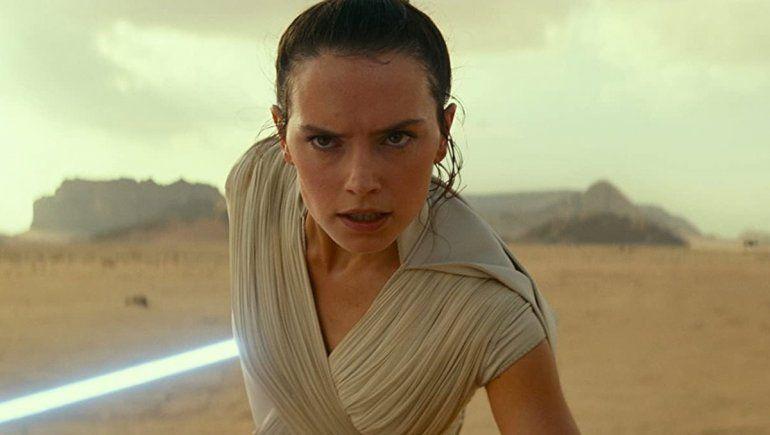 Daisy Ridley sufrió por Star Wars