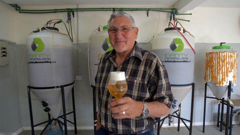 La cerveza artesanal local conquistó a un experto alemán