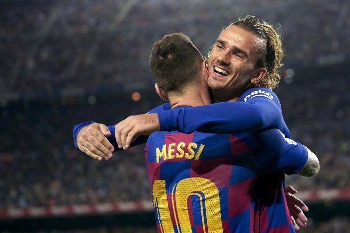 Griezmann: su relación con Messi fuera de la cancha y el original elogio