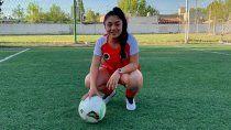 naiara melo, la crack neuquina de 14 anos que jugara en argentinos juniors