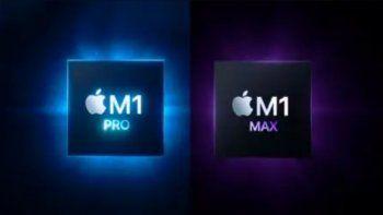 apple presenta nuevos chips y nueva gama de macbook