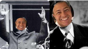 Rolando Figueroa: cómo ser Perón y Gardel, al menos por unas horas