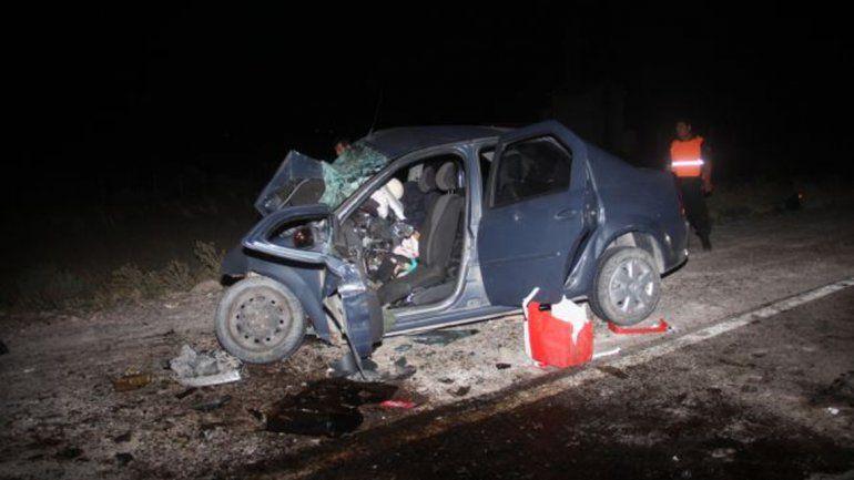 Un accidente fatal cerca de Catriel dejó dos muertos y un joven herido de gravedad