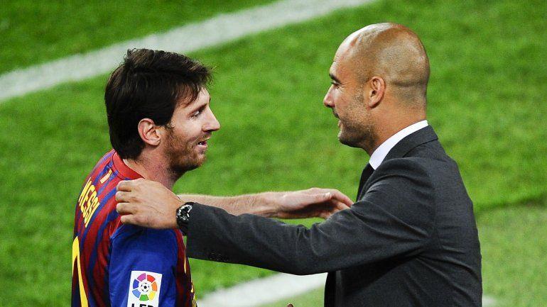 El City, en la pole para reunir a Messi y a Guardiola