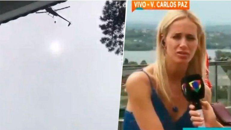 Prandi comparó el delivery canchero con los vuelos de la muerte en la dictadura
