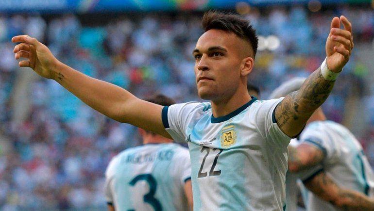 Lautaro Martínez también es una pieza clave para la selección argentina.