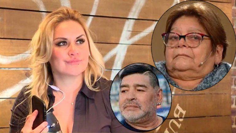 Verónica Ojeda contraatacó y difundió un audio de la hermana de Diego