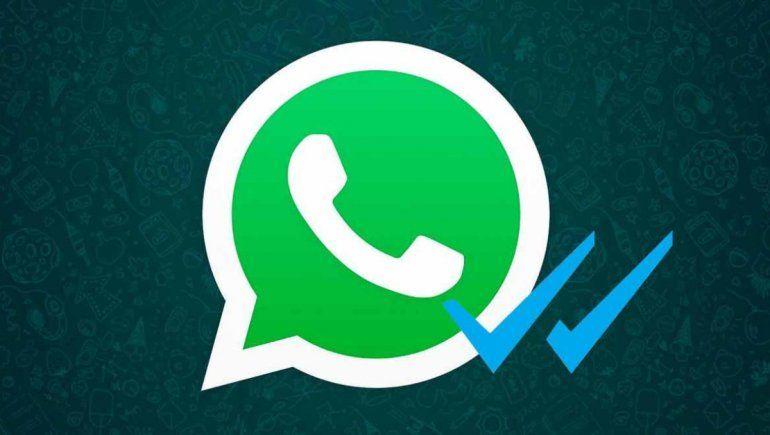 WhatsApp: así podés saber si te leyeron aunque no esté el doble check azul.