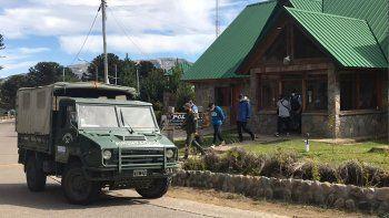 chilenos ingresaron de forma ilegal y acampaban en pehuenia