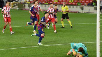 La mitad de los goles de Messi al inicio de la Liga y de la Champions, han sido desde los 12 pasos.