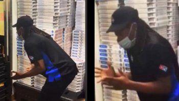 TikTok: furia de un repartidor de pizza al no recibir propina