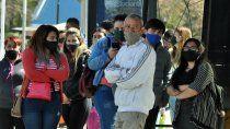 covid: hubo 221 contagios y cinco muertes en neuquen
