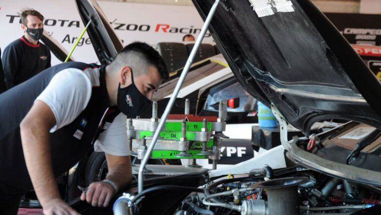 Los equipos del Súper TC2000 programan pruebas