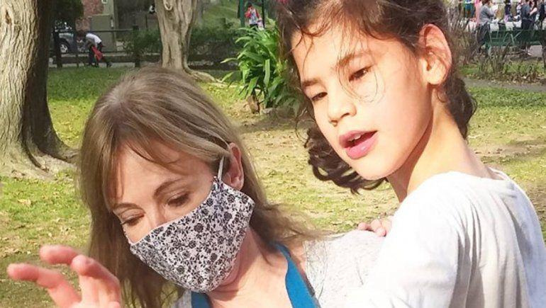 Inés Estévez tiene una nena con dispacidad | Foto: @inesestevezin