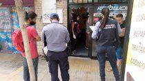 violento asalto en un local de telefonos en el centro de cipolletti