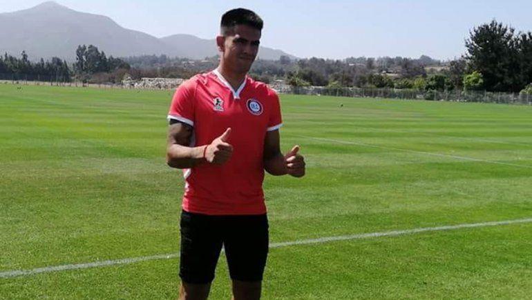 Hernández, otro neuquino que jugará en La Calera
